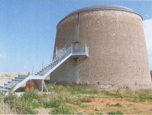 Martello Tower Y at Bawdsey