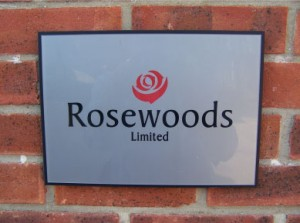 Rosewoods Sign